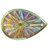 Celestial Sew-on Stone 10pcs Drop 20x30mm Citrine Aurora Borealis